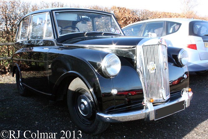 Triumph Mayflower, Frogmill Inn, Andoversford