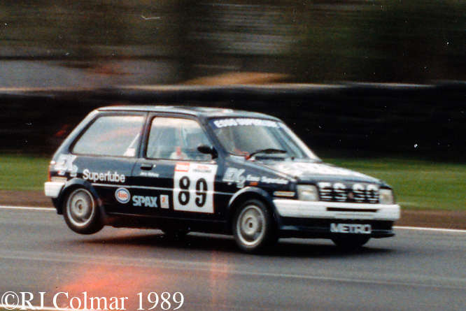 MG Metro Turbo, Oulton Park,