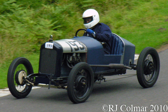 Singer 8 Junior Sports, VSCC, Loton Park