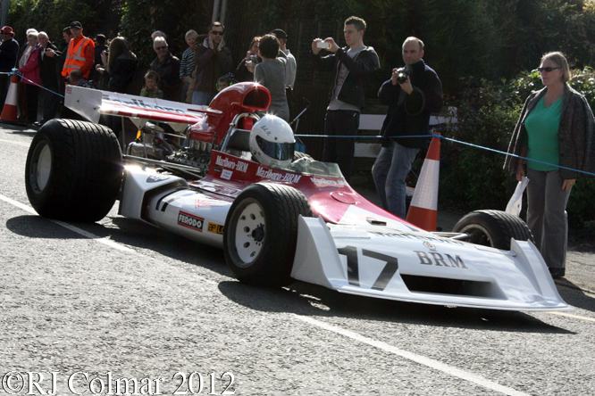 BRM P160 E, BRM Day, Bourne