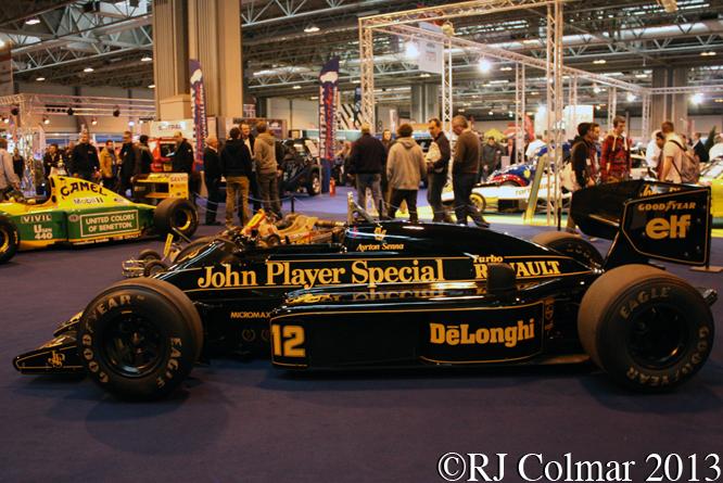 Lotus Renault 98T, Autsport International, NEC, Birmingham