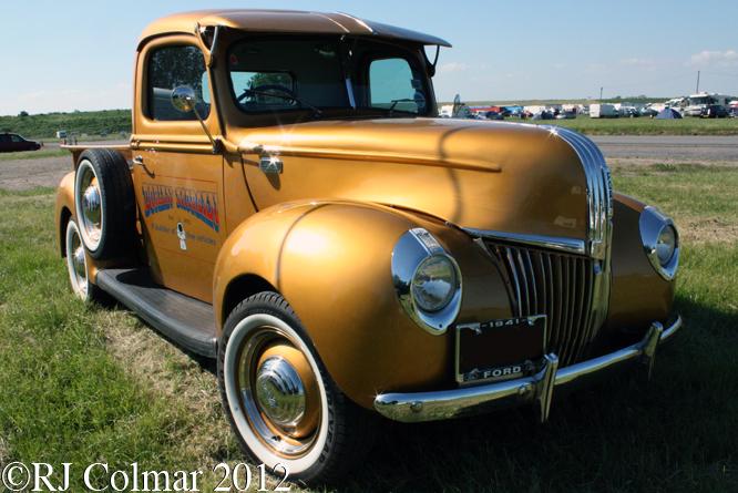 Ford 6n Tractor : Flathead gettin a li l psycho on tyres