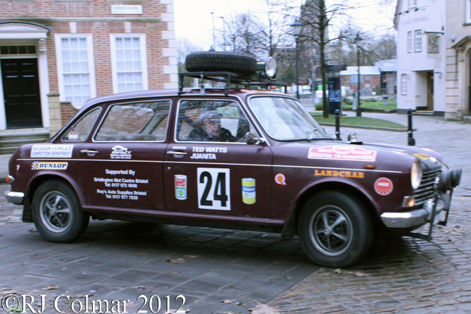 Morris 1800, Avenue Drivers Club, Queen Square, Bristol.