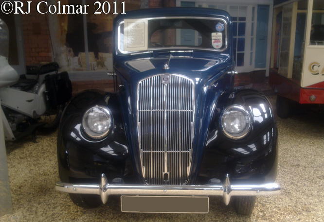 Morris 8 Series E, Atwell Wilson Museum, Calne 