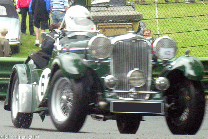 Singer B37, VSCC, Prescott