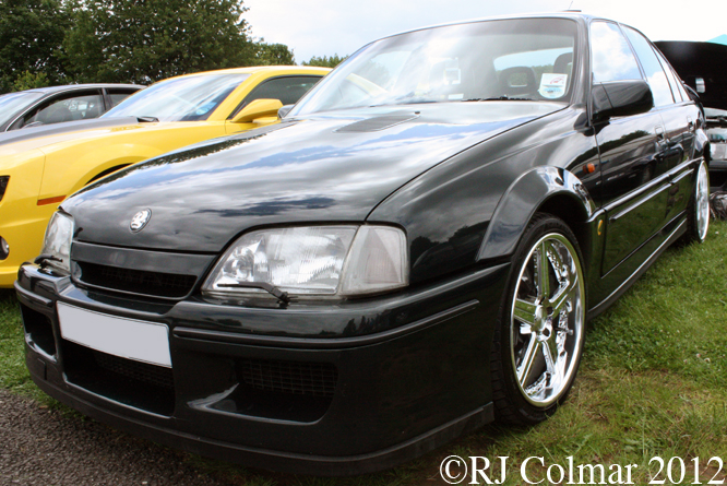 Vauxhall Lotus Carlton, Classic and Sports Car Action Day, Castle Combe