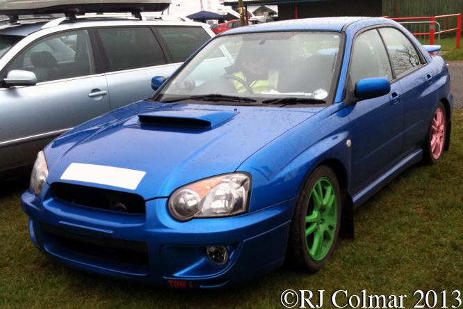 Subaru Impreza, Great Western Sprint, Castle Combe