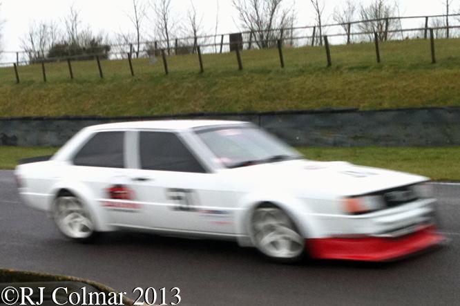 Audi 80 Quattro, Great Western Sprint, Castle Combe