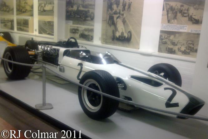 McLaren Ford M2B, Donington Park Museum