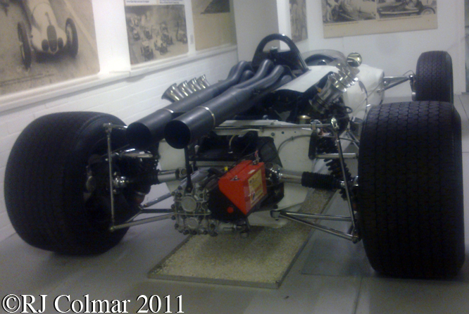 McLaren Ford M2B, Donington Park Museum