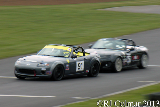 BRSCC Mazda MX-5 SuperCup, Howards Day, Castle Combe