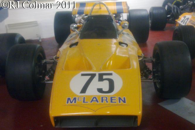 McLaren Offy M15, Donington Park Museum