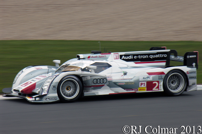 Loic Duval, Audi R18 e-tron quattro, 6 Hours Of Siverstone, 