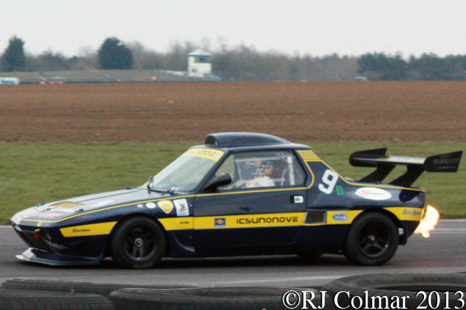 Micheal Kason, Fiat X1/9, Howards Day, Castle Combe