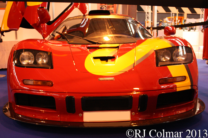 McLaren F1 GTR, Autosport International, NEC, Birmingham