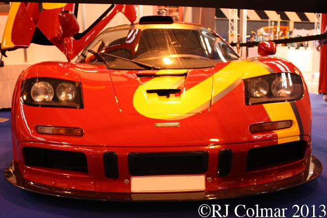McLaren F1 GTR, Autosport International, NEC, Birmingham