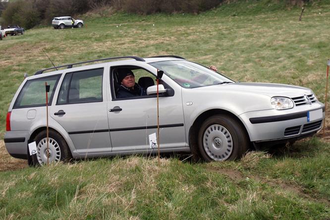 Volkswagen Golf IV, Cross Trophy, Dundry