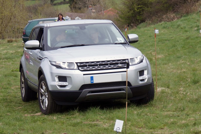 Land Rover Evoque, Cross Trophy, Dundry