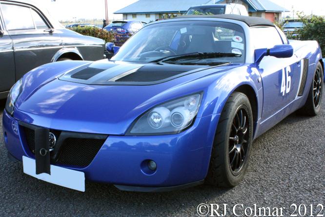 Vauxhall VX220, Pegasus Sprint, Castle Combe