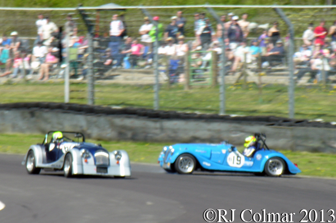 Jones, Plant, Aero Racing Morgan Challenge, Motors TV Live Race Day, Castle Combe