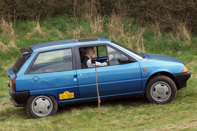 Citroen AX, Cross Trophy, Dundry