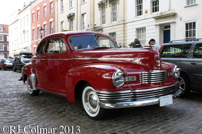 Nash Ambassador, Avenue Drivers Club, Queen Square, Bristol