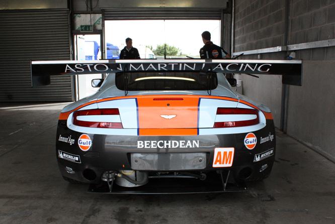 Aston Martin Vantage V8 GTE, Donington Park