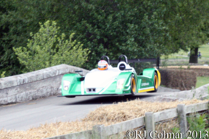 Mansell, Caterham SP/300.R, Cholomondeley Pageant Of Power