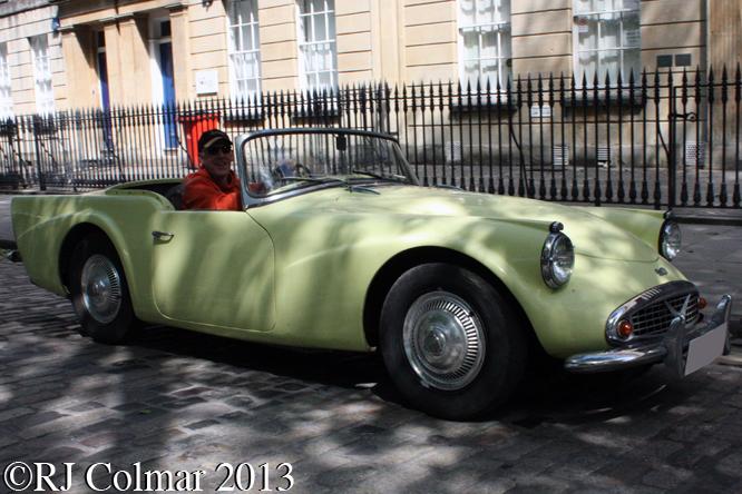 Daimler SP 250, Avenue Drivers Club, Queen Square, Bristol