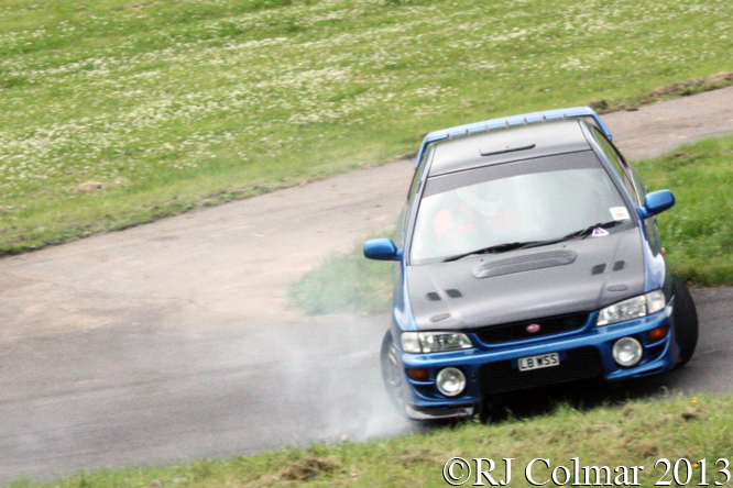 Fanner, Subaru Impreza, Gurston Down, Wiltshire