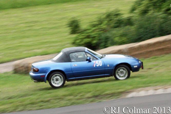 Chard, Mazda MX5, Gurston Down, Wiltshire