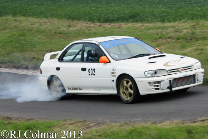 Flagg, Subaru Impreza STi, Gurston Down, Wiltshire