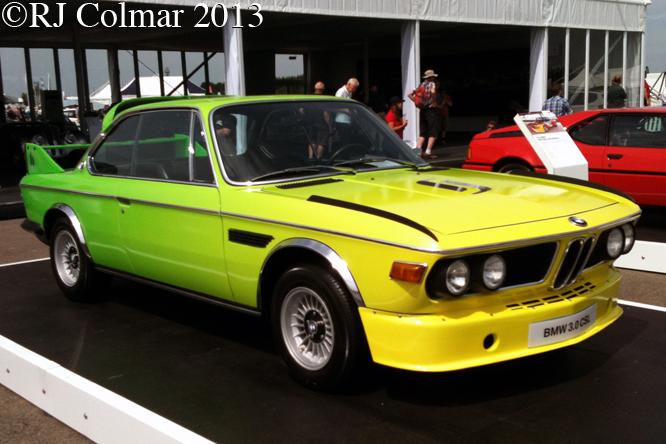 BMW 3.0 CSL, Silverstone Classic