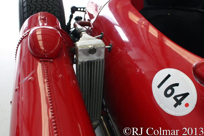 Lancia D50 Replica, HGPCA Test day, Silverstone