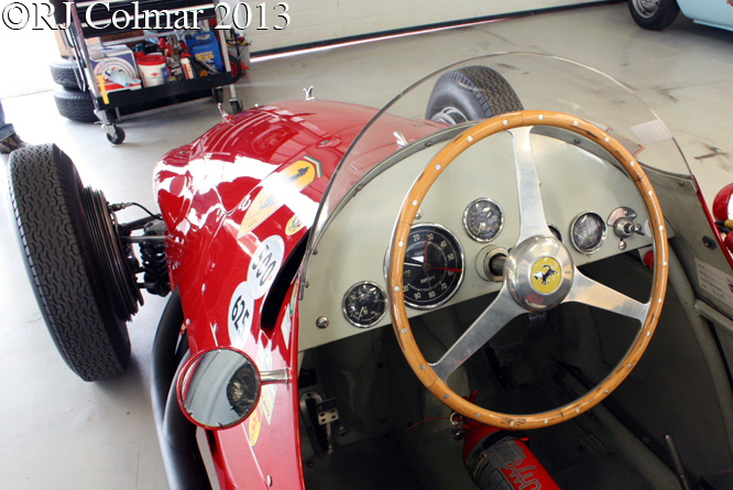 Ferrari 500/625 A/750, HGPCA Test Day, Silverstone