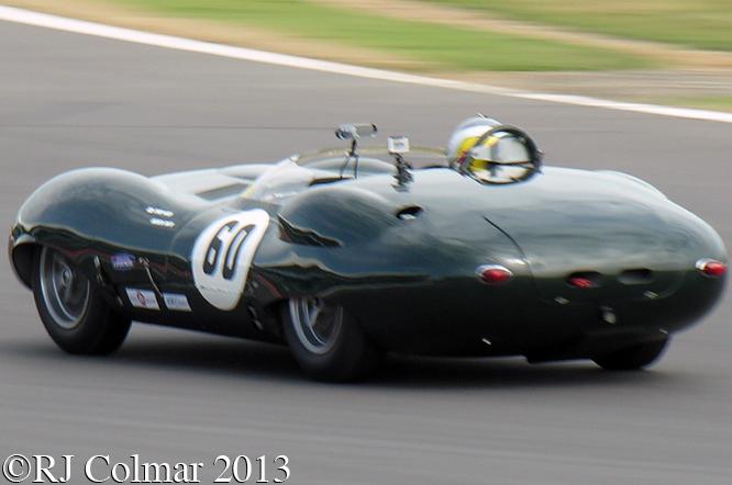 Smith, Ward, Costin, Lister, Silverstone Classic