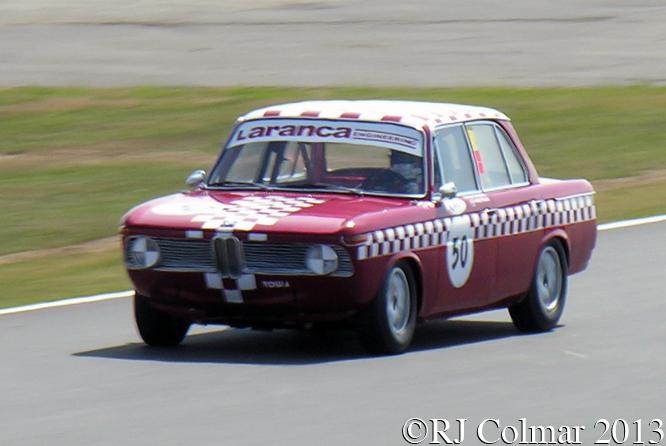 Priaulx, Solomons, BMW1800Ti, Silverstone Classic