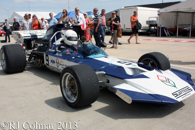Lyons, Surtees, TS9, Silverstone Classic