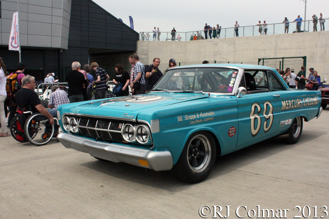 Wills, Panayiotou, Mercury, Comet, Cyclone, Silverstone Classic