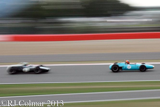 Minshaw, Brabham, BT4, Hughes, Cooper, T53, Silverstone Classic