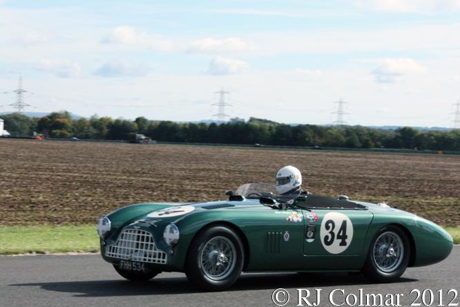 Woodgate, Aston Martin DB3, VSCC, Castle Combe
