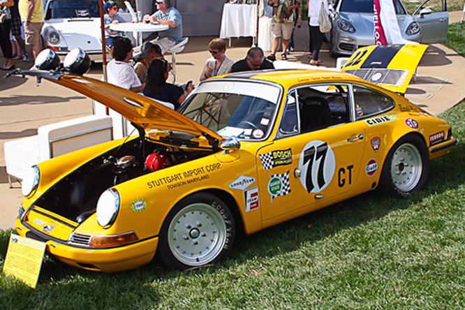 Porsche 911T , Nielllo Serrano Concours d'Elegance