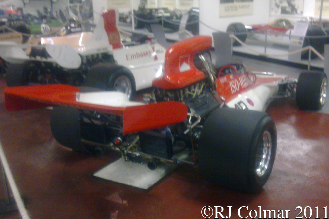 Williams Cosworth FX3/2, Donington Park Museum