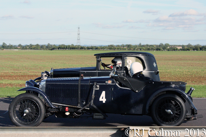 VSCC Pre War Sports Cars, Autumn Classic, Castle Combe