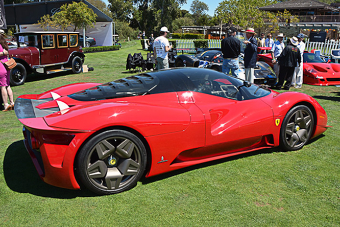 Ferrari P4/5 by Pininfarina, The Quail