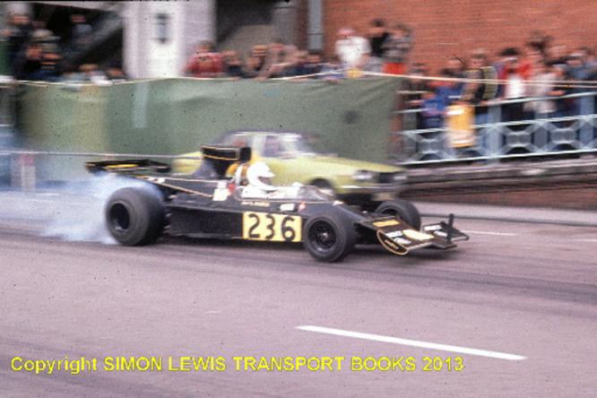 Render, Lotus Cosworth 76, Brighton Speed Trials