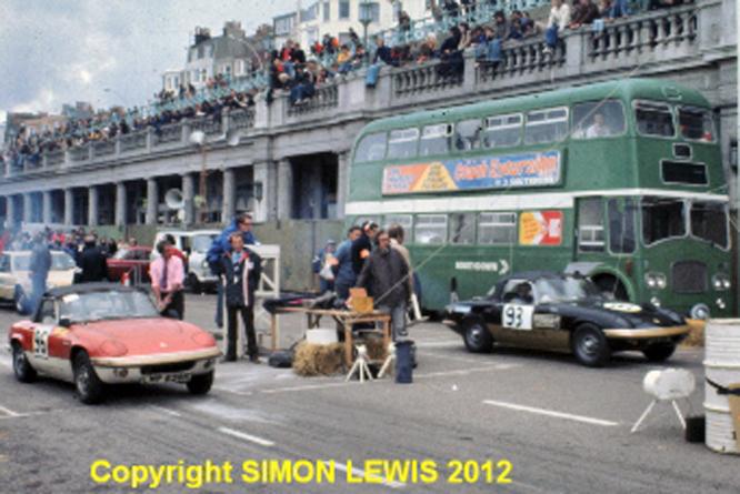 Lotus Elans, Brighton Speed Trials