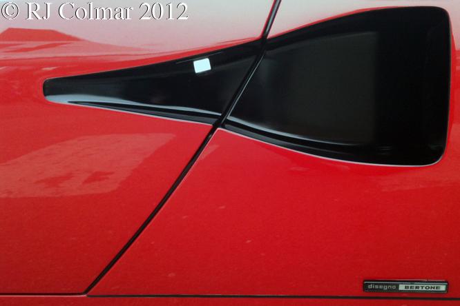 Lamborghini Countach 5000 QV, Auto Italia, Brooklands
