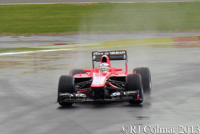 Marussia Cosworth MR02, British GP P1, Silverstone