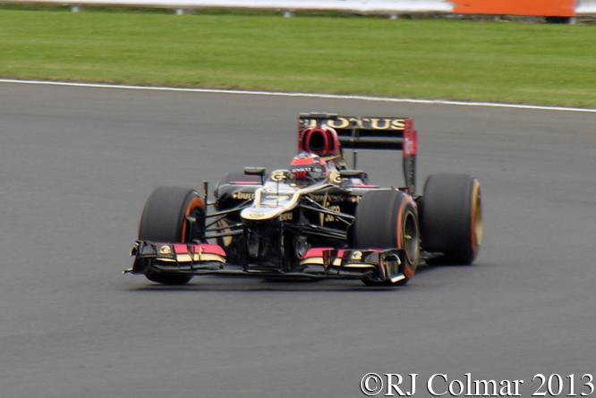 Lotus Renault E21, Raikkönnen, British Grand Prix P2, Silverstone